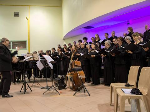 Concert in Clapiers with the Choeur Symphonique