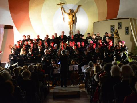 Choeur Symphonique performs in Cap d'Agdes